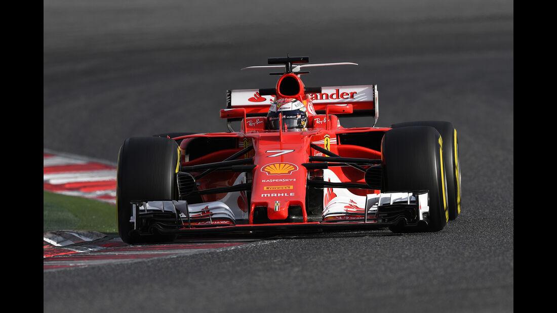 Kimi Räikkönen - Ferrari - Formel 2 - Test - Barcelona - 28. Februar 2017