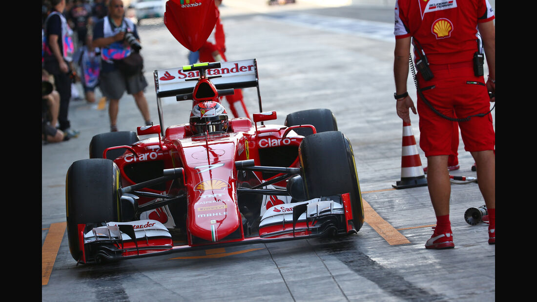 Kimi Räikkönen - Ferrari - GP Abu Dhabi 2015