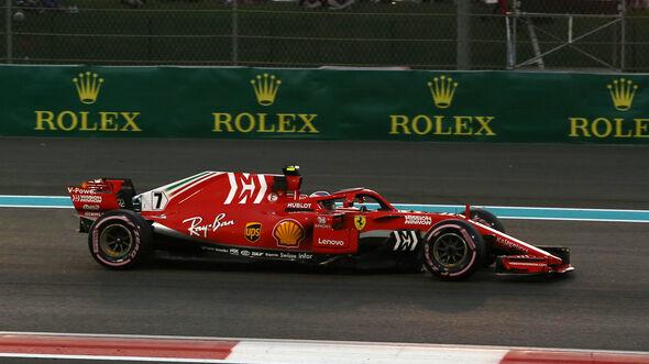 Kimi Räikkönen - Ferrari - GP Abu Dhabi 2018