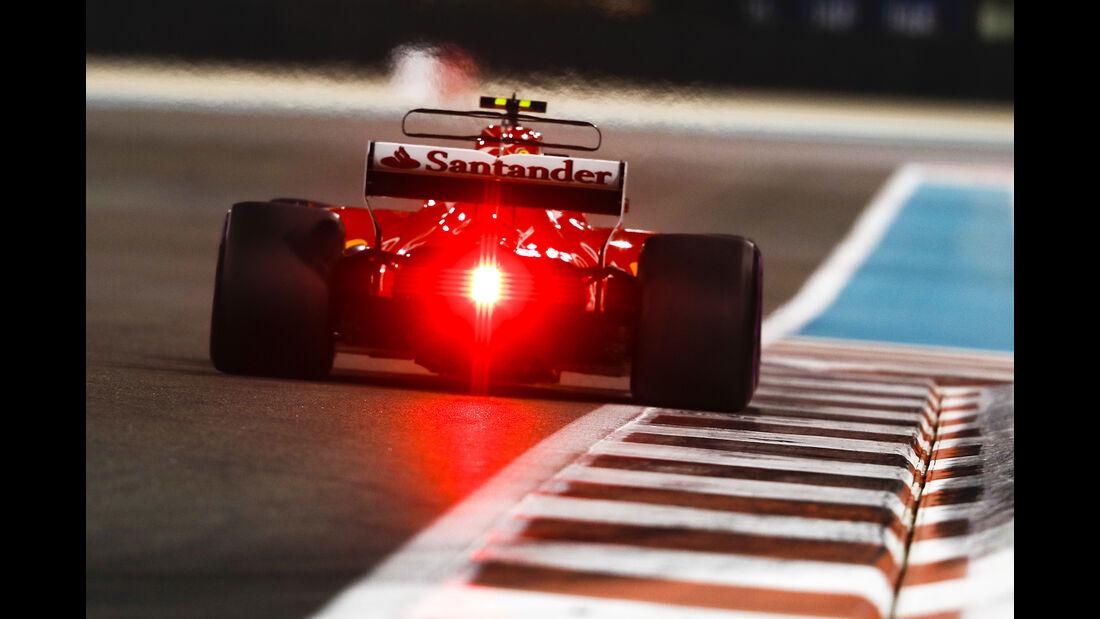 Kimi Räikkönen - Ferrari - GP Abu Dhabi - 25. November 2017