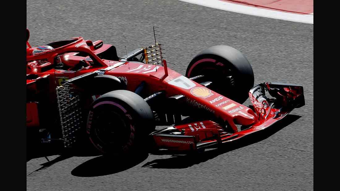 Kimi Räikkönen - Ferrari - GP Abu Dhabi - Formel 1 - 23. November 2018