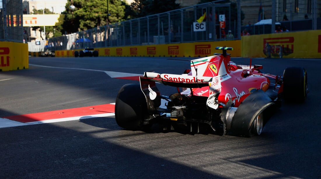 Kimi Räikkönen - Ferrari - GP Aserbaidschan 2017 - Baku