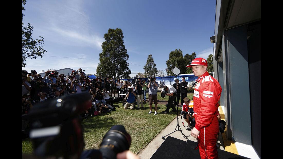Kimi Räikkönen - Ferrari - GP Australien 2014 - Melbourne