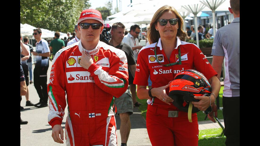 Kimi Räikkönen - Ferrari - GP Australien - Melbourne - 17. März 2016