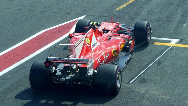 Kimi Räikkönen - Ferrari - GP Australien - Melbourne - 25. März 2017