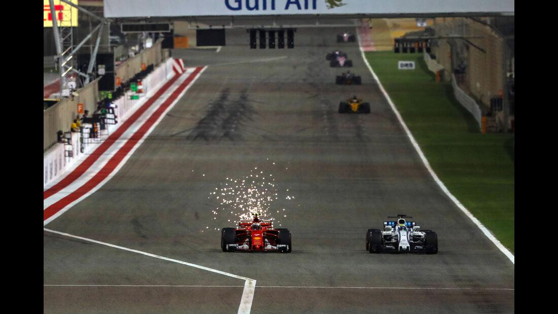 Kimi Räikkönen - Ferrari - GP Bahrain 2017 - Rennen