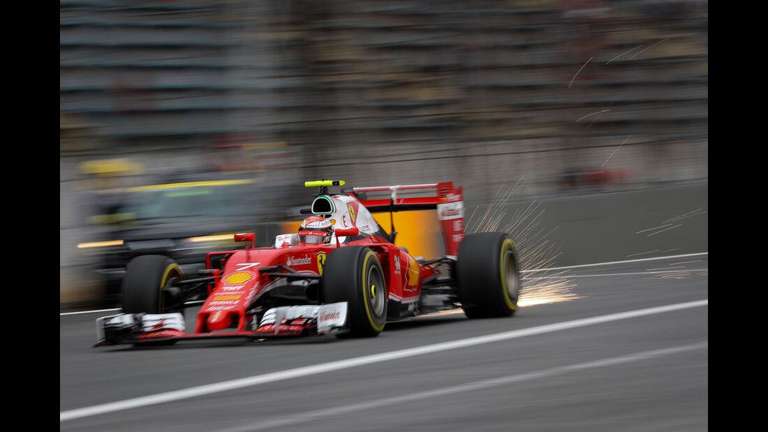 Kimi Räikkönen - Ferrari - GP Brasilien 2016 - Interlagos - Qualifying