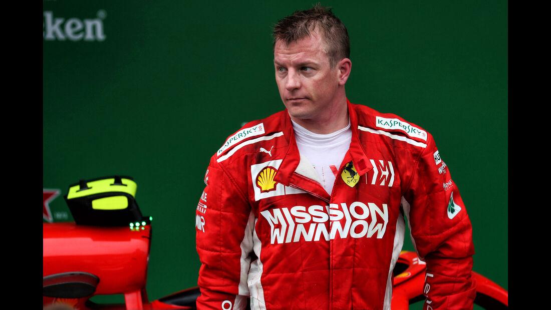 Kimi Räikkönen - Ferrari - GP Brasilien 2018 - Rennen
