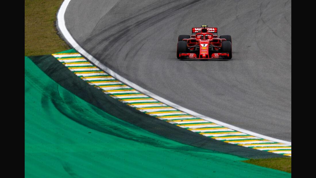 Kimi Räikkönen - Ferrari - GP Brasilien - Interlagos - Formel 1 - Samstag - 10.11.2018