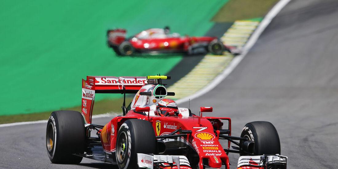 Kimi Räikkönen - Ferrari -  GP Brasilien - Interlagos - Freitag - 11.11.2016