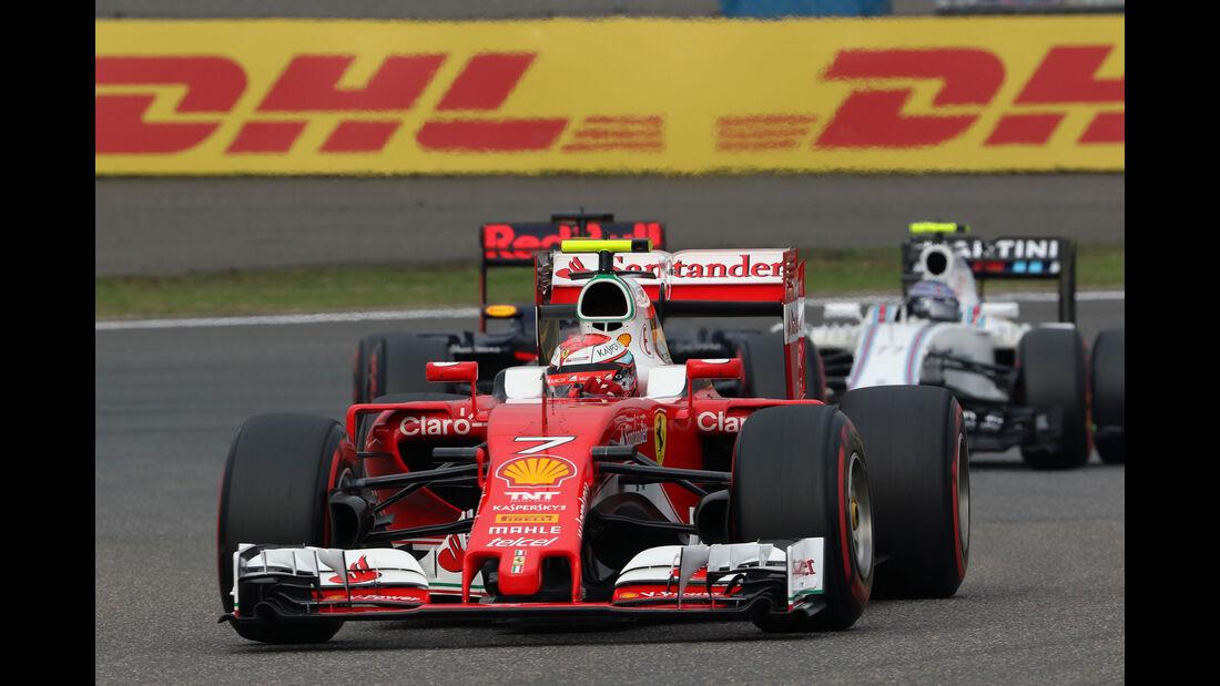 Kimi Räikkönen - Ferrari - GP China 2016 - Shanghai - Qualifying - 16.4.2016
