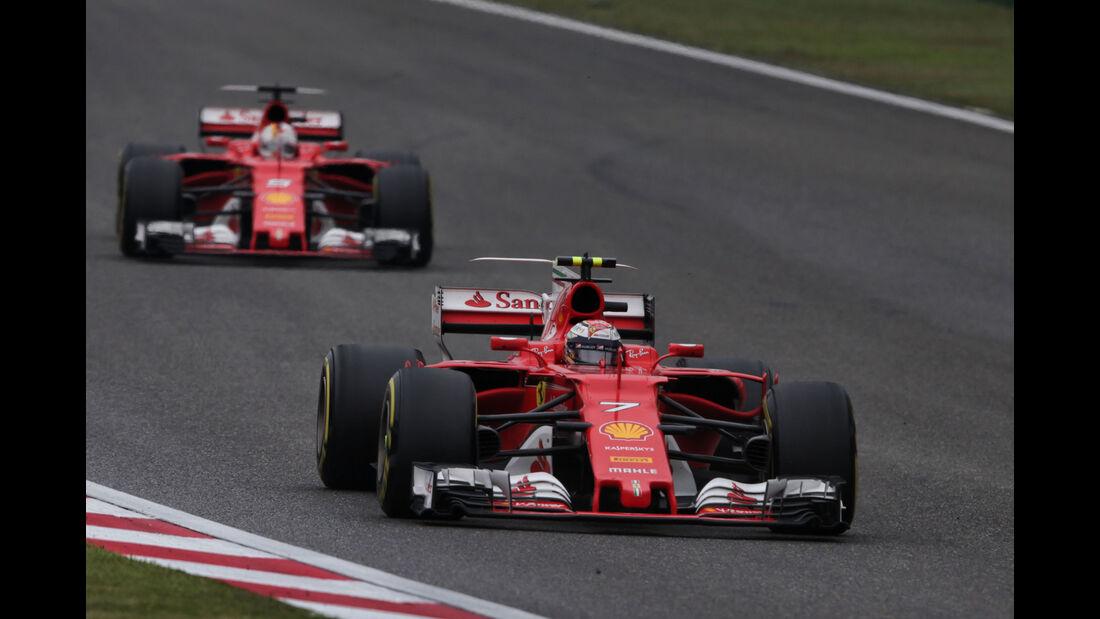 Kimi Räikkönen - Ferrari - GP China 2017 - Shanghai - Rennen