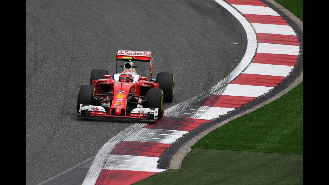 Kimi Räikkönen - Ferrari - GP China - Shanghai - Freitag - 15.04.2016