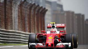 Kimi Räikkönen - Ferrari - GP China - Shanghai - Freitag - 15.4.2016