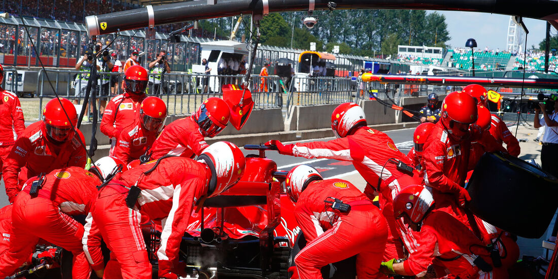 Kimi Räikkönen - Ferrari - GP England 2018 - Silverstone - Rennen