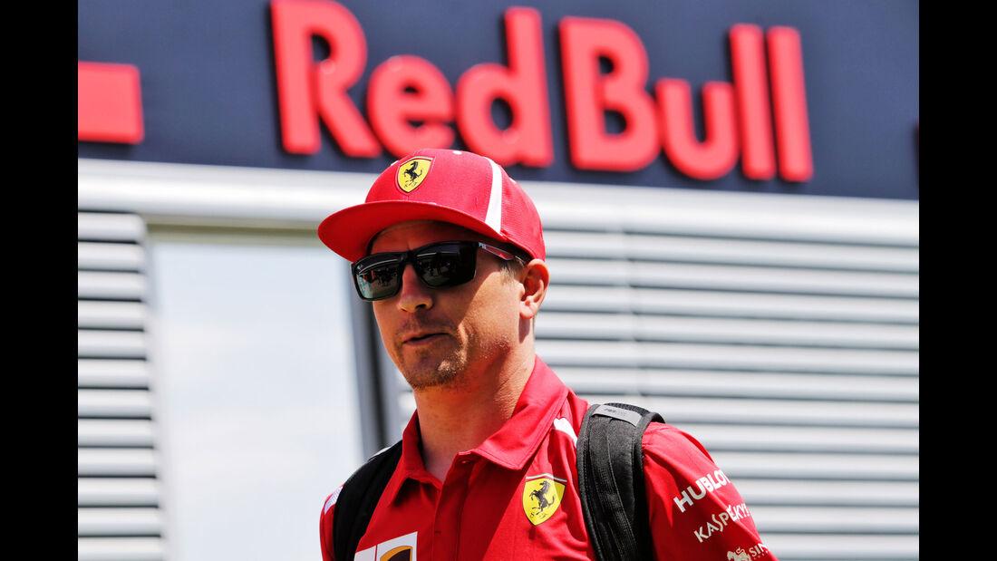Kimi Räikkönen - Ferrari - GP England - Silverstone - Formel 1 - Donnerstag - 5.7.2018