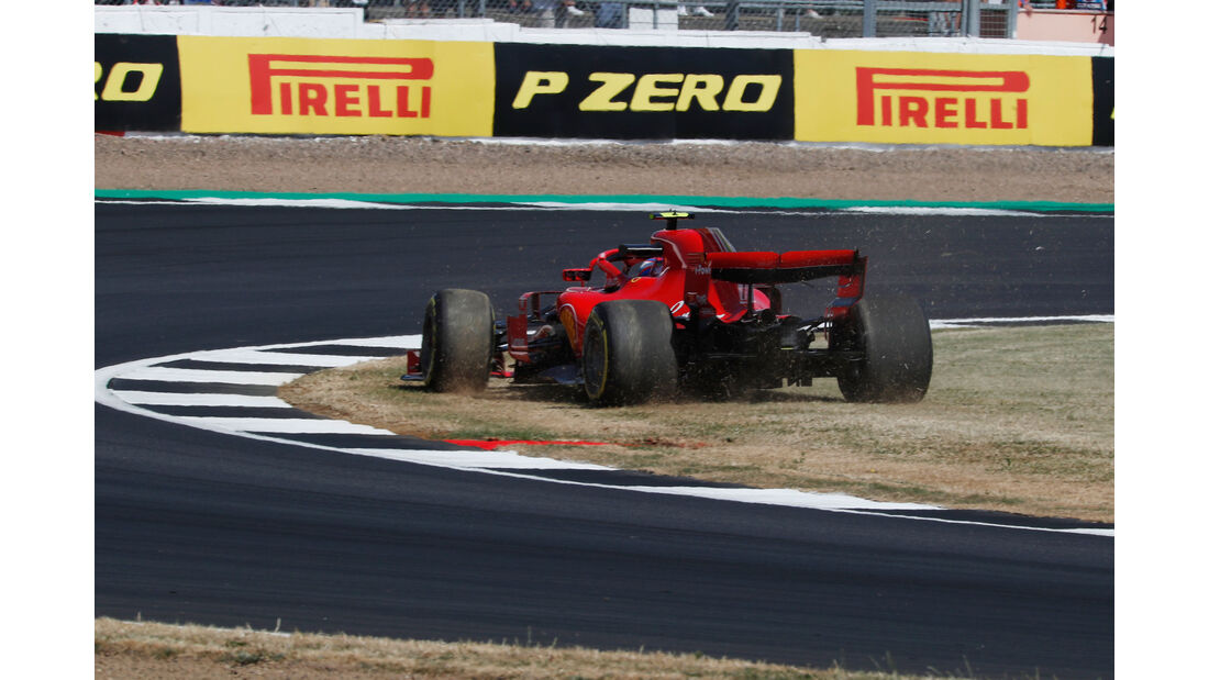Kimi Räikkönen - Ferrari - GP England - Silverstone - Formel 1 - Freitag - 6.7.2018