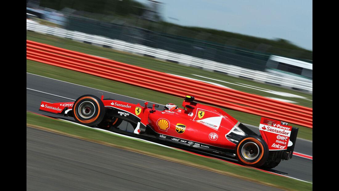 Kimi Räikkönen - Ferrari - GP England - Silverstone - Freitag - 3.7.2015
