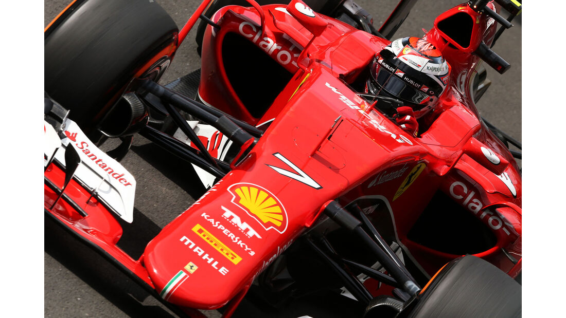 Kimi Räikkönen - Ferrari - GP England - Silverstone - Qualifying - Samstag - 4.7.2015