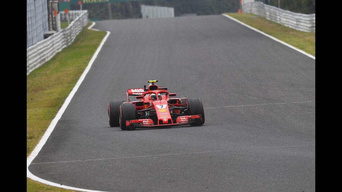 Kimi Räikkönen - Ferrari - GP Japan - Suzuka - Formel 1 - Freitag - 5.10.2018
