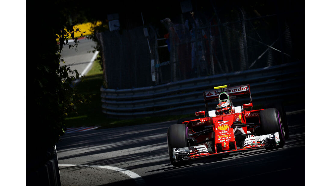 Kimi Räikkönen - Ferrari - GP Kanada 2016
