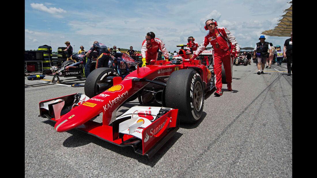 Kimi Räikkönen - Ferrari - GP Malaysia 2015