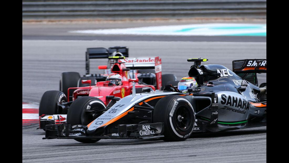 Kimi Räikkönen - Ferrari - GP Malaysia 2015 - Formel 1