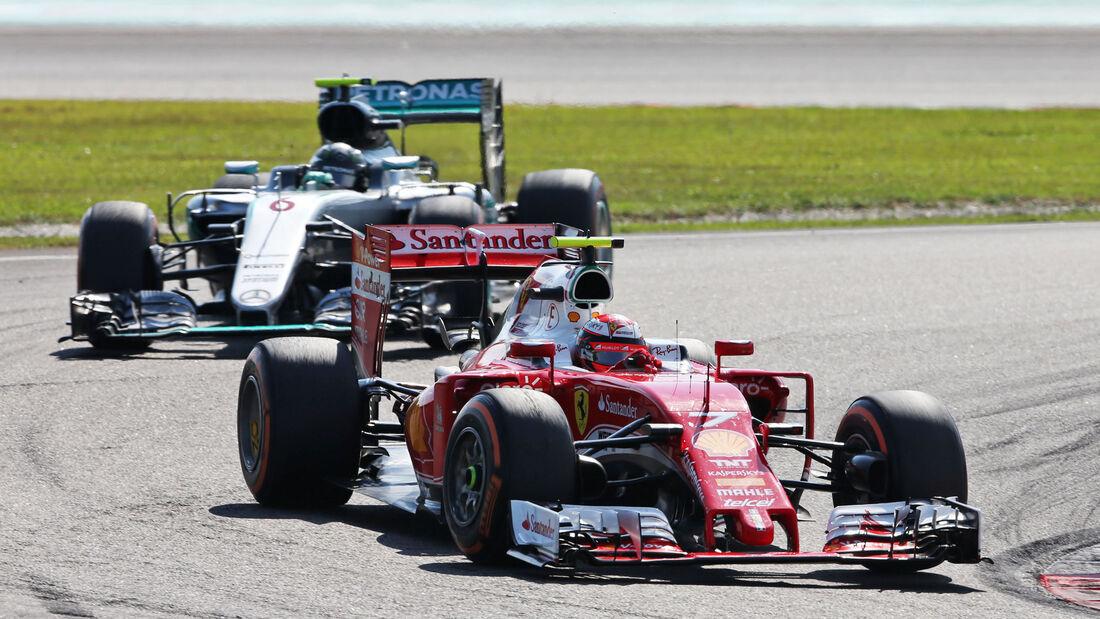 Kimi Räikkönen - Ferrari - GP Malaysia 2016