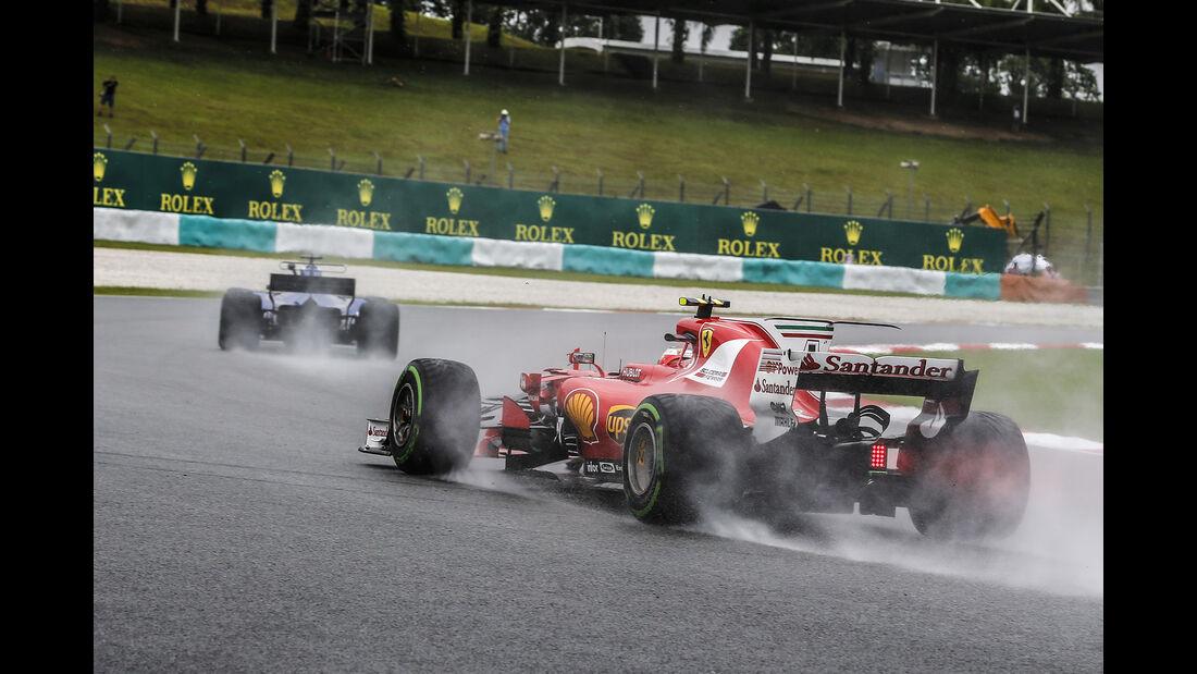 Kimi Räikkönen - Ferrari - GP Malaysia - Sepang - 29. Oktober 2017