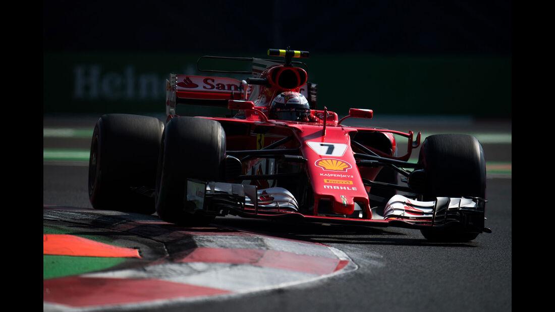 Kimi Räikkönen - Ferrari - GP Mexiko 2017 - Qualifying