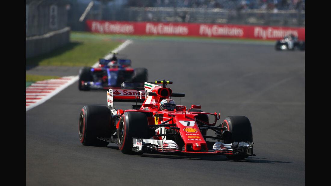 Kimi Räikkönen - Ferrari - GP Mexiko - Formel 1 - Freitag - 27.10.2017