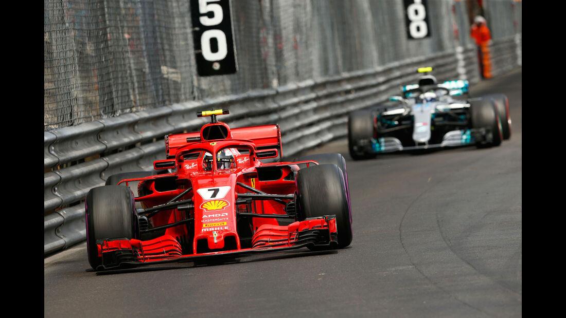 Kimi Räikkönen - Ferrari - GP Monaco 2018 - Rennen