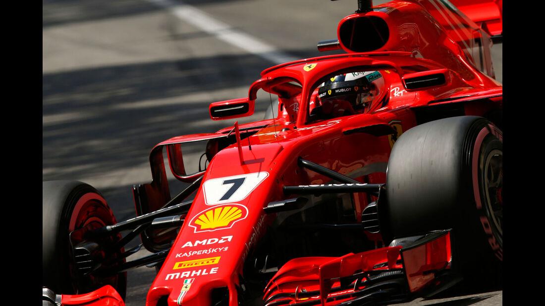 Kimi Räikkönen - Ferrari - GP Monaco - Formel 1 - Samstag - 26.5.2018