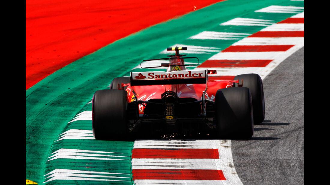 Kimi Räikkönen - Ferrari - GP Österreich 2017 - Spielberg - Qualifying