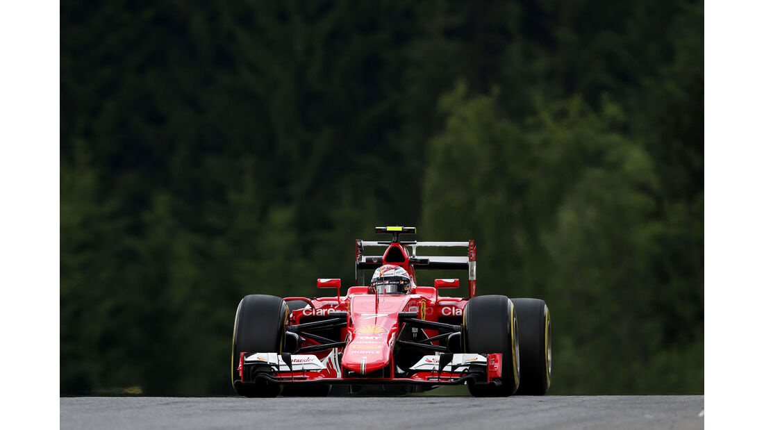 Kimi Räikkönen - Ferrari - GP Österreich - Formel 1 - Freitag - 19.6.2015