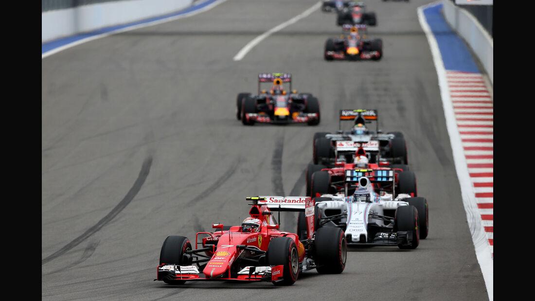 Kimi Räikkönen - Ferrari - GP Russland 2015 - Sochi - Rennen
