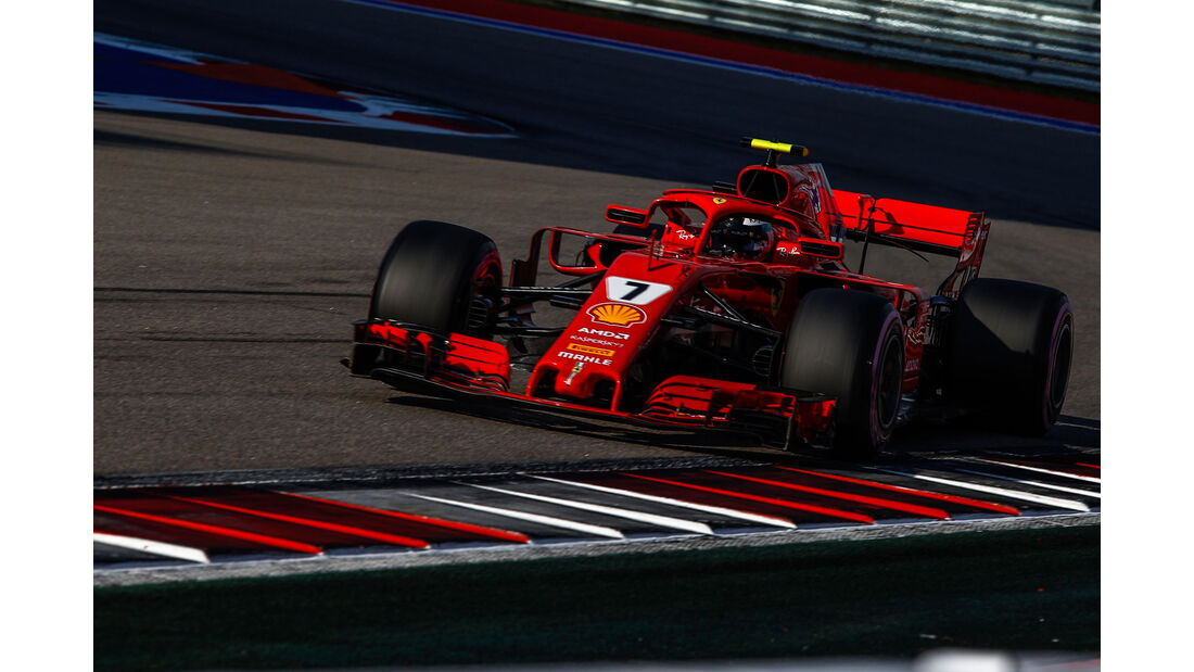 Kimi Räikkönen - Ferrari - GP Russland 2018 - Sotschi - Qualifying
