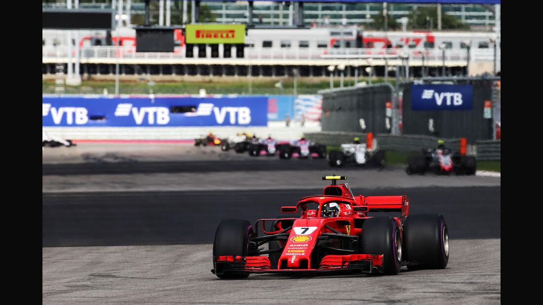Kimi Räikkönen - Ferrari - GP Russland 2018 - Sotschi - Rennen