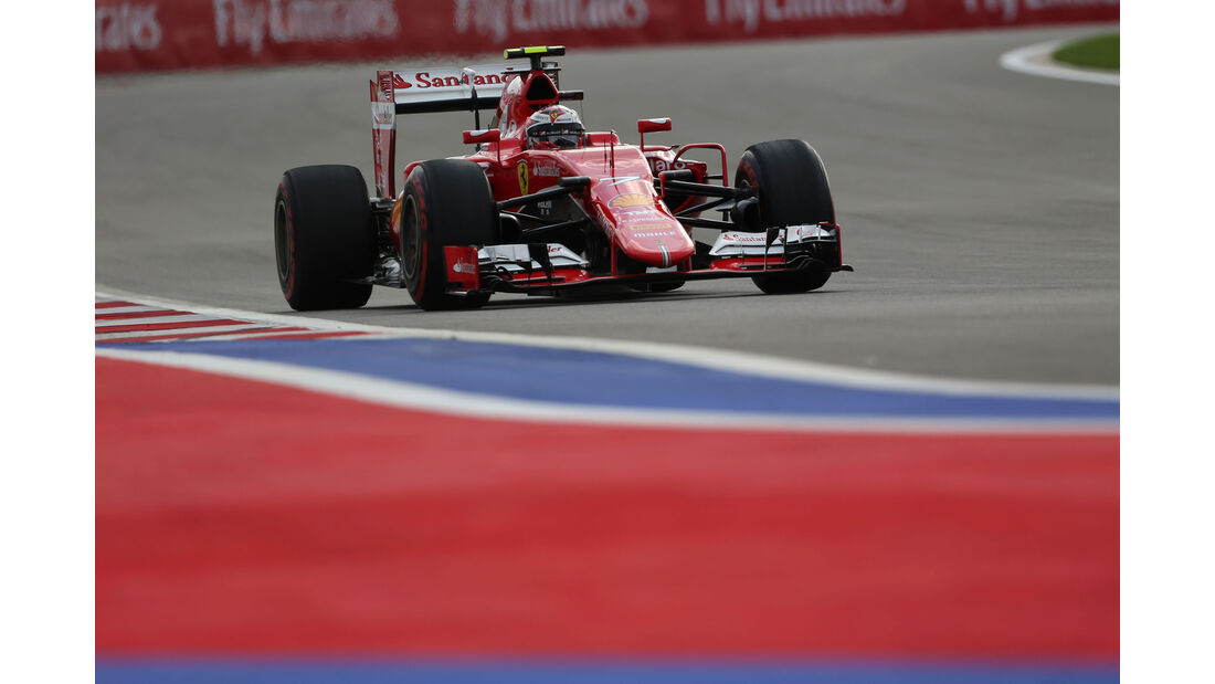 Kimi Räikkönen - Ferrari - GP Russland - Qualifying - Samstag - 10.10.2015