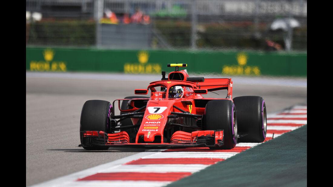 Kimi Räikkönen - Ferrari - GP Russland - Sotschi - Formel 1 - Freitag - 28.9.2018