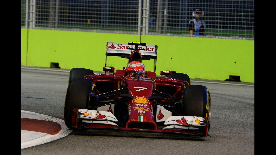 Kimi Räikkönen - Ferrari - GP Singapur 2014