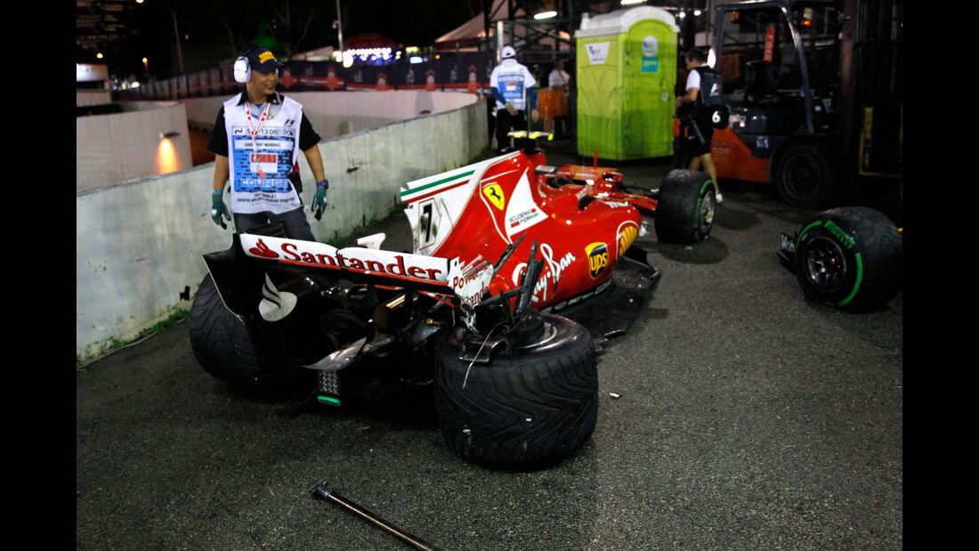 Kimi Räikkönen - Ferrari - GP Singapur 2017 - Rennen