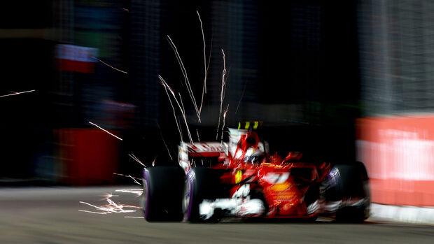 Kimi Räikkönen - Ferrari - GP Singapur - Qualifying
