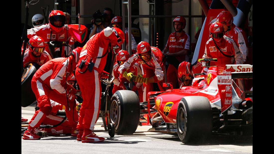Kimi Räikkönen - Ferrari - GP Spanien 2015 - Rennen - Sonntag - 10.5.2015