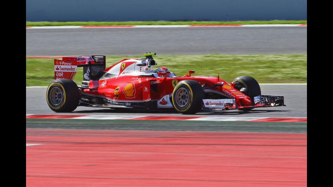 Kimi Räikkönen - Ferrari - GP Spanien 2016 - Barcelona - F1 - Freitag - 13.5.2016
