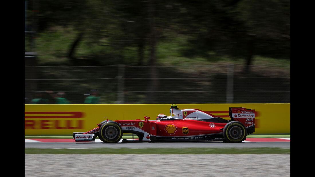 Kimi Räikkönen - Ferrari - GP Spanien 2016 - Qualifying - Samstag - 14.5.2016