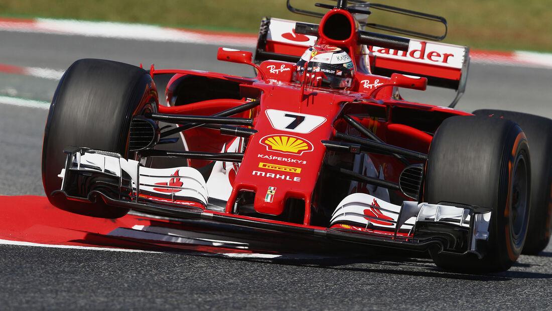 Kimi Räikkönen - Ferrari - GP Spanien - Barcelona - 12. Mai 2017