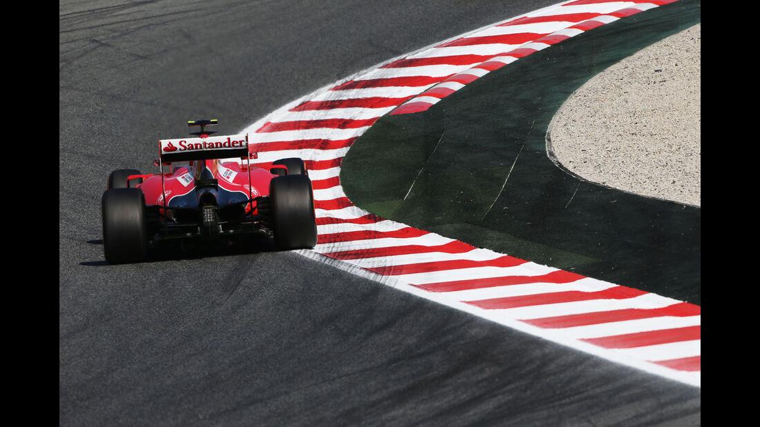 Kimi Räikkönen - Ferrari - GP Spanien - Barcelona - Freitag - 8.5.2015