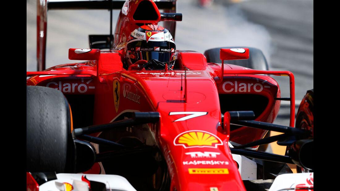 Kimi Räikkönen - Ferrari - GP Spanien - Qualifying - Samstag - 9.5.2015