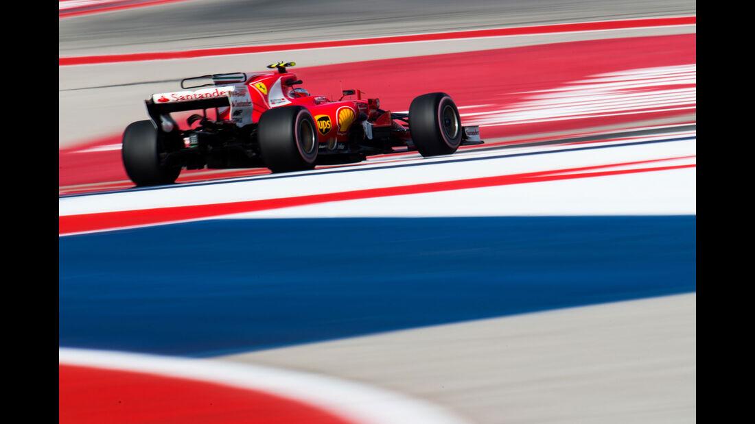 Kimi Räikkönen - Ferrari - GP USA 2017 - Qualifying
